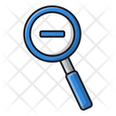 Zoom Out Magnifier Search Icon
