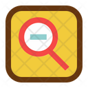 Zoom Out Interface Design Icon
