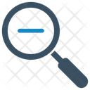 Find Magnifying Glass Minimize Icon