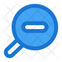 Zoom Out Zoom Magnifying Glass Icon