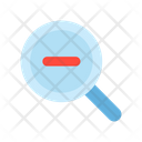 Out Magnifier Search Icon