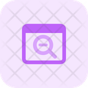 Zoom Out Icon