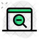 Zoom Out Zoom Optimization Icon