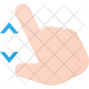 Zoom Swipe Pitch Icon