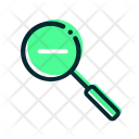 Zoom Out Search Icon