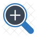 Zoomin Magnifier Glass Icon