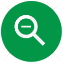 Zoomout Plus Magnifier Icon