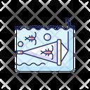 Zooplankton Net Icon
