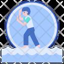 Zorbing Icon