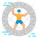 Zorbing Leisure Sports Icon