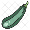 Zucchini Food Diet Icon