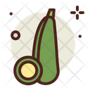 Zucchini Food Vegetable Icon