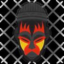 Zulu Mask Tribal Mask Cultural Mask Icon