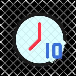 10 Sec Timer Icon