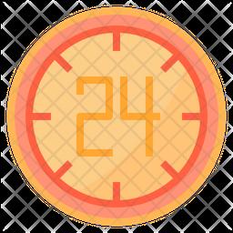24 hour sale Icon