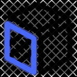 3 D Design Dualtone Icon