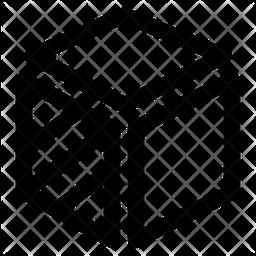 3 D Design Line Icon
