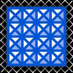 3 D Floor Icon
