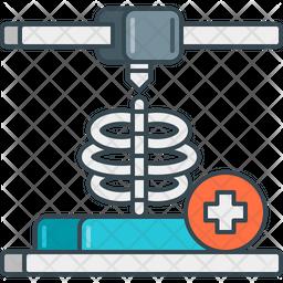 3 D Medical Model Icon