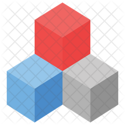 3d Blocks Icon