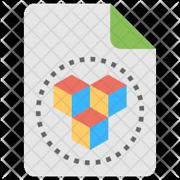 3D Design Icon