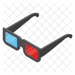 3d Glasses Icon Of Isometric Style Available In Svg Png Eps Ai Icon Fonts