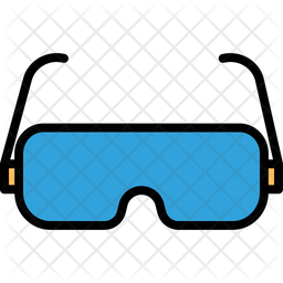 3d Glasses Icon Of Colored Outline Style Available In Svg Png Eps Ai Icon Fonts