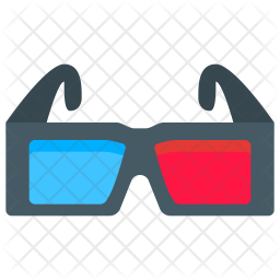 3d Glasses Icon Of Flat Style Available In Svg Png Eps Ai Icon Fonts