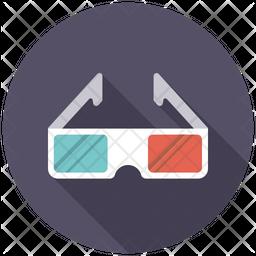 3D Goggles Icon