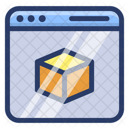 3D Modeling Technology Icon
