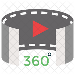 3D Panorama Icon