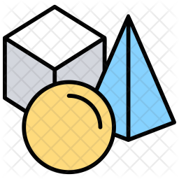 3D Shapes Icon