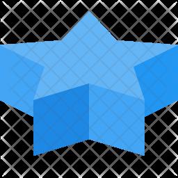 3D star Icon