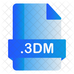 3Dm File Icon