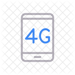 4 G Mobile Icon