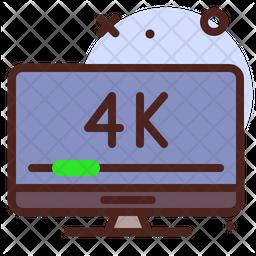 4 K Tv Icon