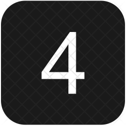 4 number Icon