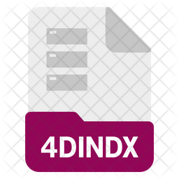 4dindx file Icon