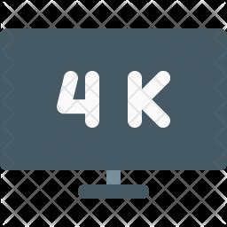 4K screen Icon