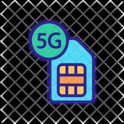 5 G Card Icon