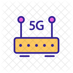 5 G Router Icon