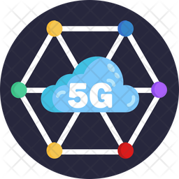 5G Cloud Icon