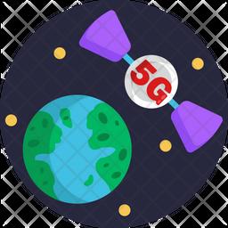 5G Communication Icon