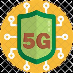 5G Shield Icon