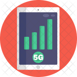 5G Tablet Icon