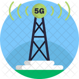 5G Tower Icon