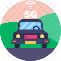 5G Vehicle Icon