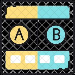 A-b testing Icon
