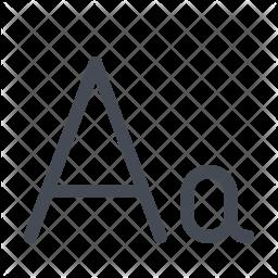 Aa Icon