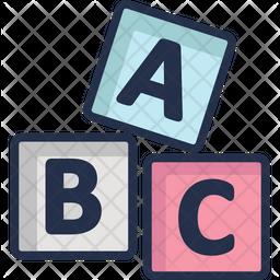 Abc Cubes Icon